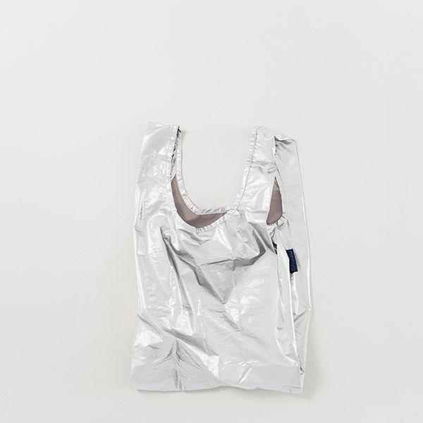 BAGGU Baby Bag シルバーメタリック