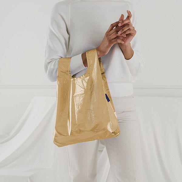 BAGGU Baby Bag ゴールドメタリック