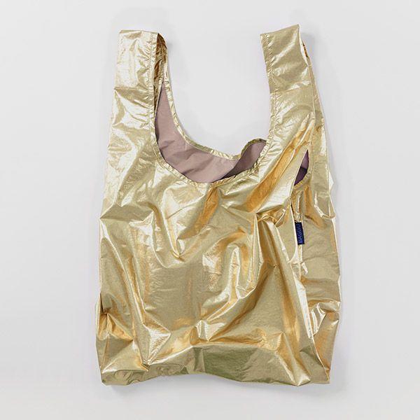 BAGGU Standard Bag メタリックゴールド