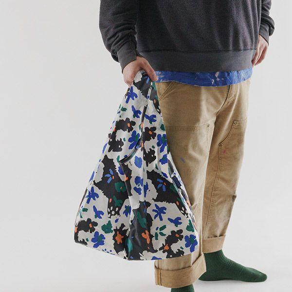 BAGGU Standard Bag リトグラフフラワー