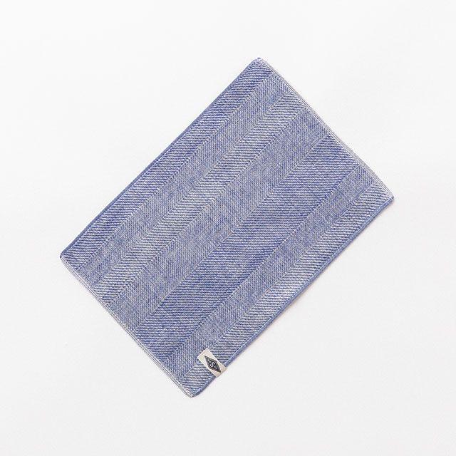 LETTER & TOWELS ブルー / 水布人舎