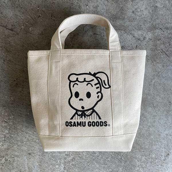 OSAMU GOODS キャンバスバッグ ジル