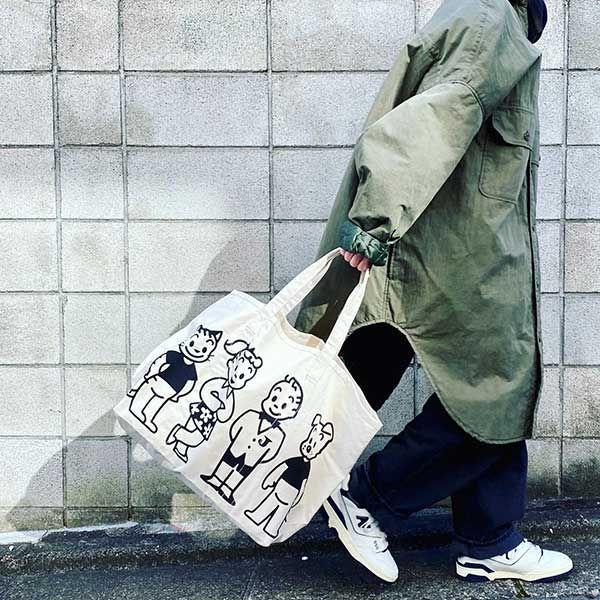 OSAMU GOODS マーケットバッグ