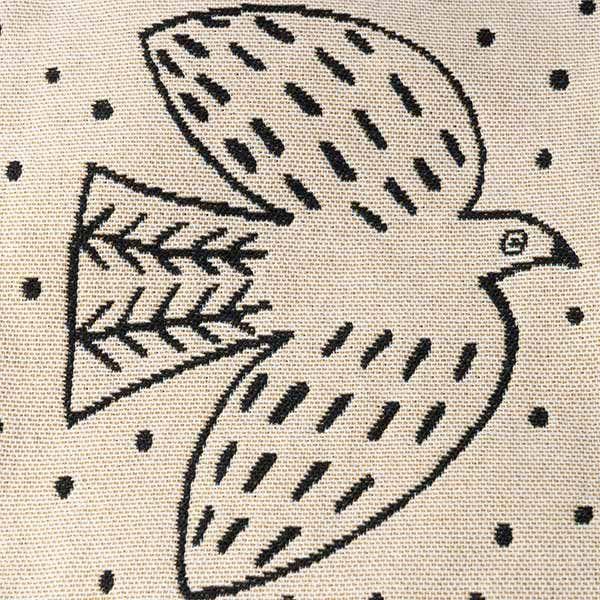 松尾ミユキ ミニバッグ bird ホワイト