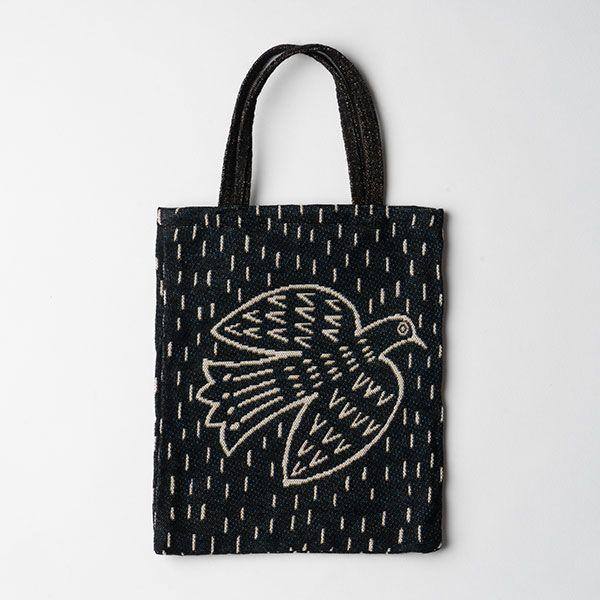 松尾ミユキ ミニバッグ bird ブラック