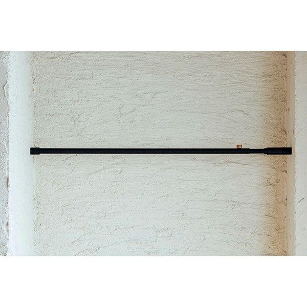 【オンライン限定】テンションロッドA ブラック 75-115cm