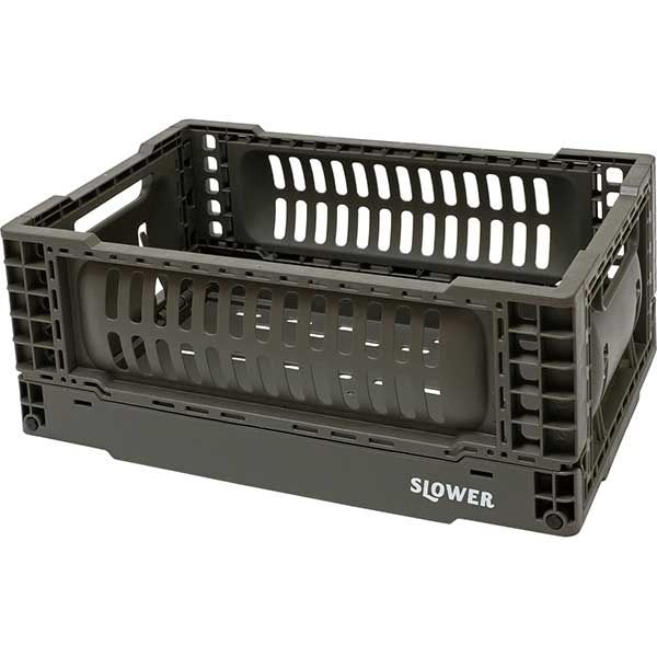 【オンライン限定】SLOWER フォールディングコンテナ バスク S オリーブ