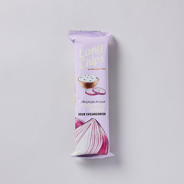 ポテトチップス サワークリーム&オニオン / PERNES