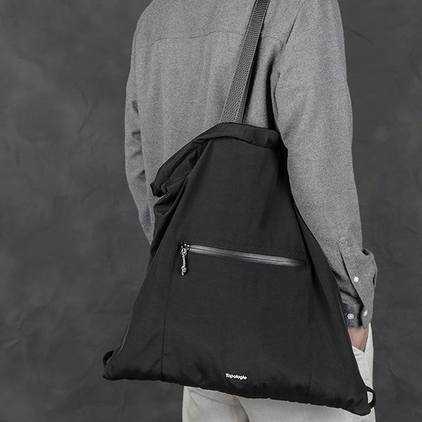 Topologie Draw Tote ブラック