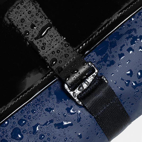 Topologie Mini Pacer Messenger Dry ショルダーバッグ ブラック