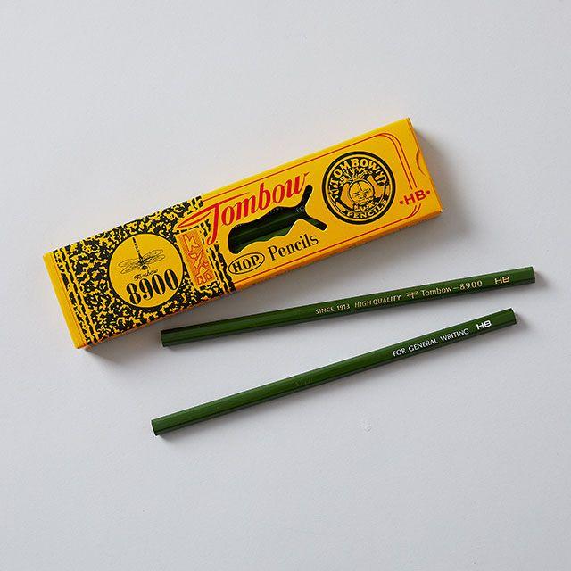 【12本SET】TOMBOW 8900 鉛筆HB / トンボ鉛筆