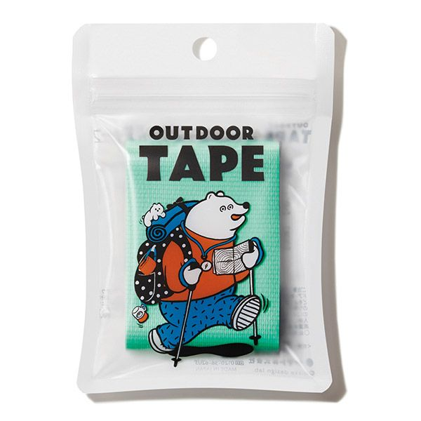 OUTDOOR TAPE パステルグリーン