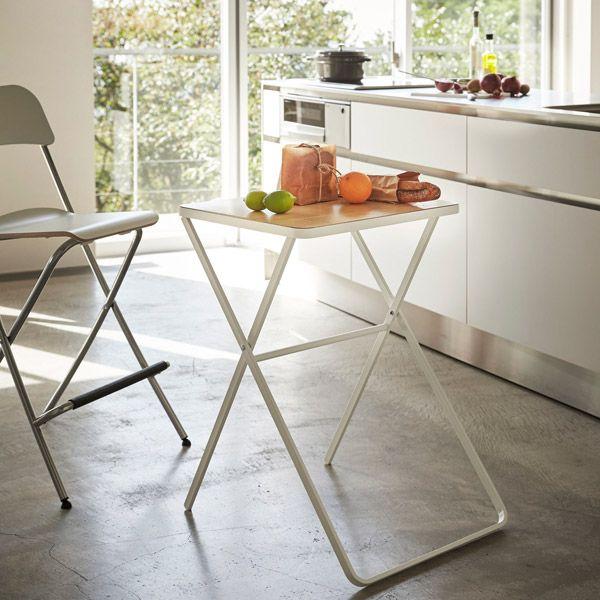 tower 折り畳みテーブル ホワイト