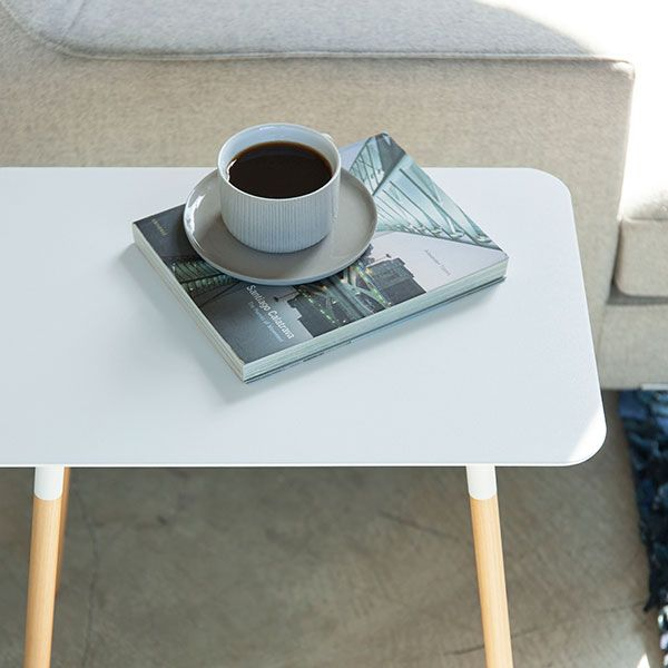 【オンライン限定】PLAIN サイドテーブル 角型 ホワイト