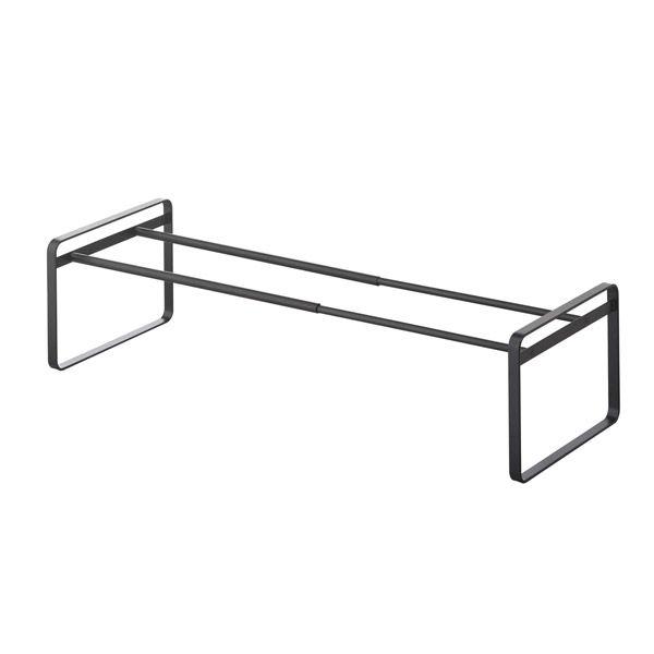 frame/フレーム 伸縮シューズラック ブラック