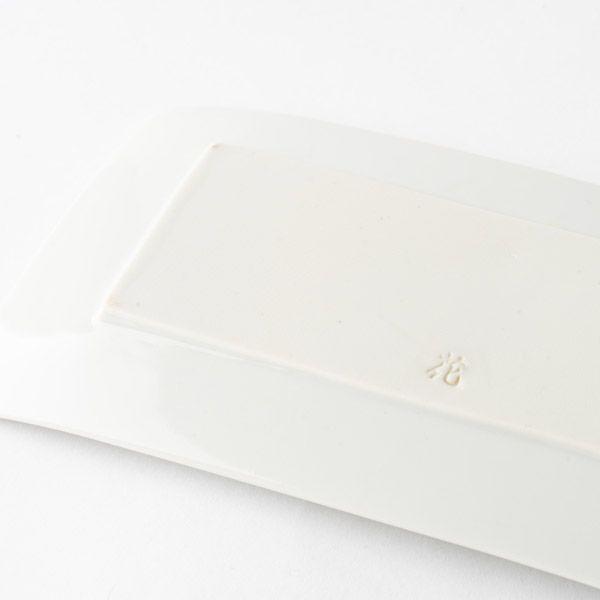 秋刀魚皿 白磁