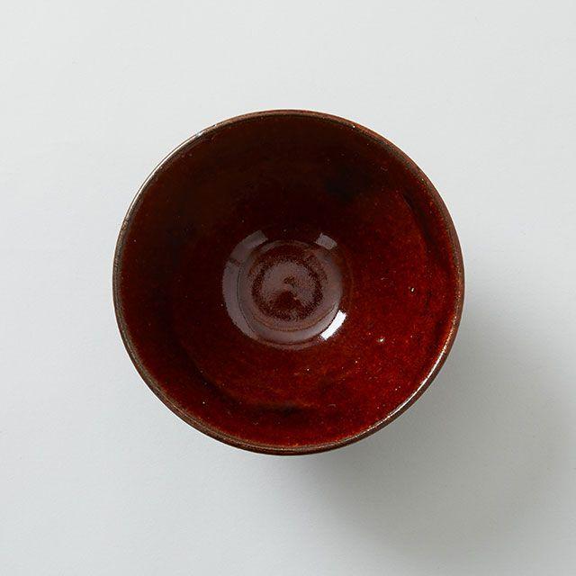 めし碗 白土 ・ 飴釉 / 壺八×TODAY'S SPECIAL