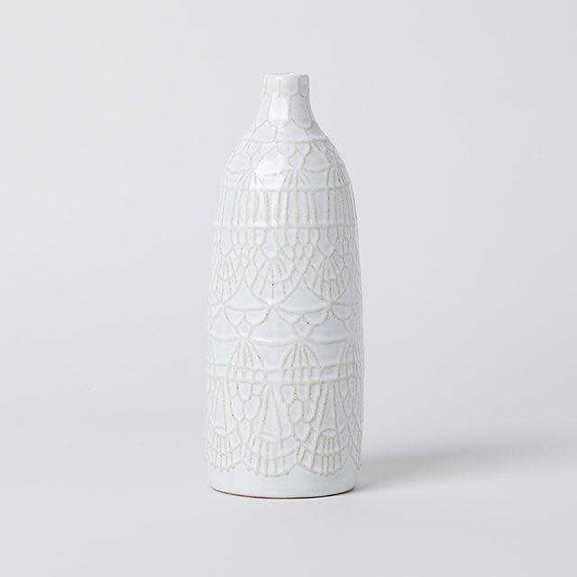 Doily vase L / essence