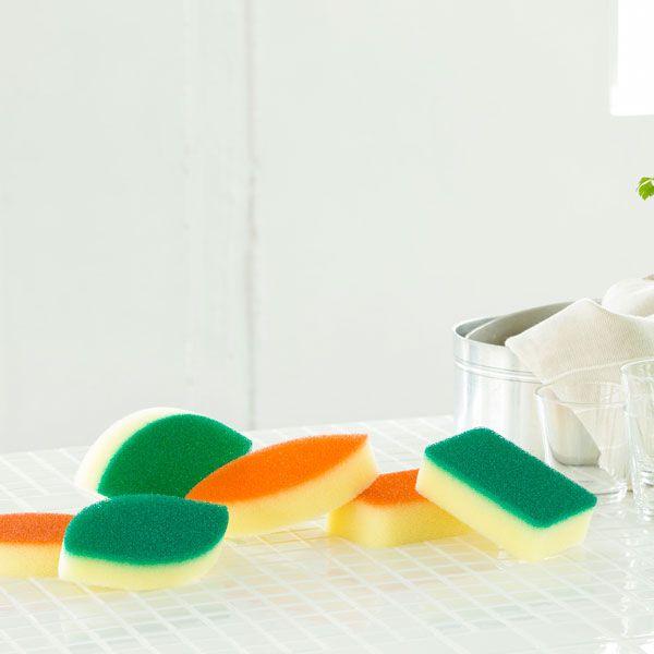 亀の子スポンジ DO 角型 グリーン