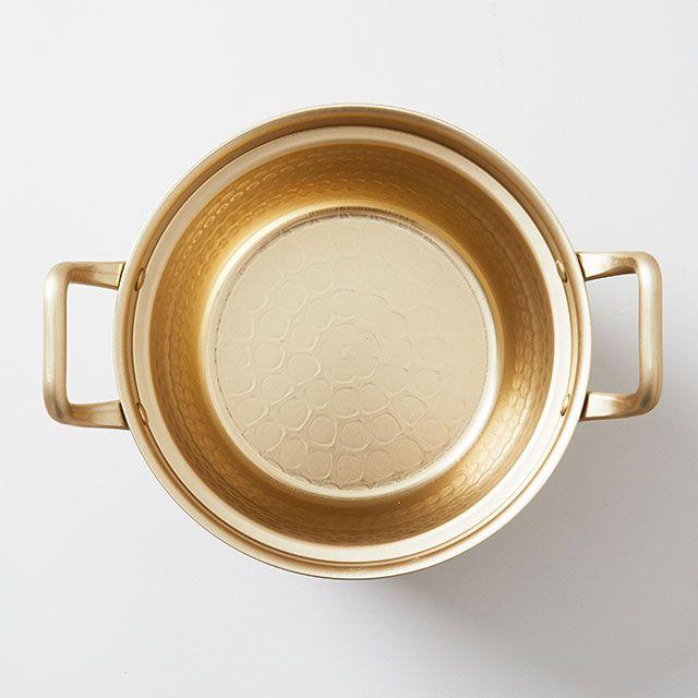 北陸アルミニウム アルミ段付き鍋 15.5cm