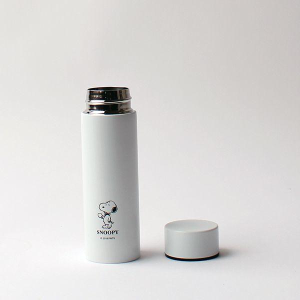 スヌーピー ポケットステンレスボトル ホワイト
