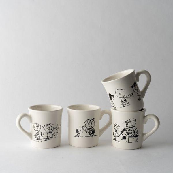 スヌーピー 50'S マグカップ HOUSE