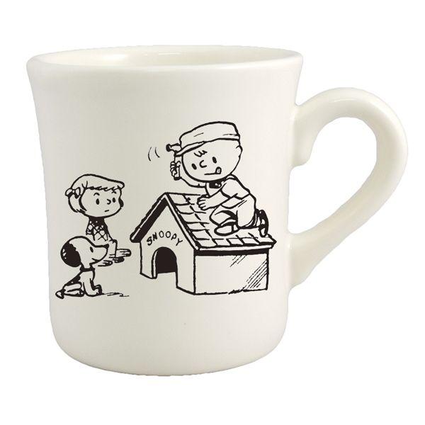 【ギフトセット】スヌーピーマグ&カフェオレ(HOUSE)