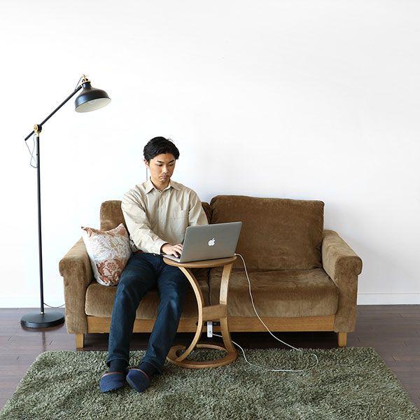 Rasic LP 2人掛けソファ カーキ
