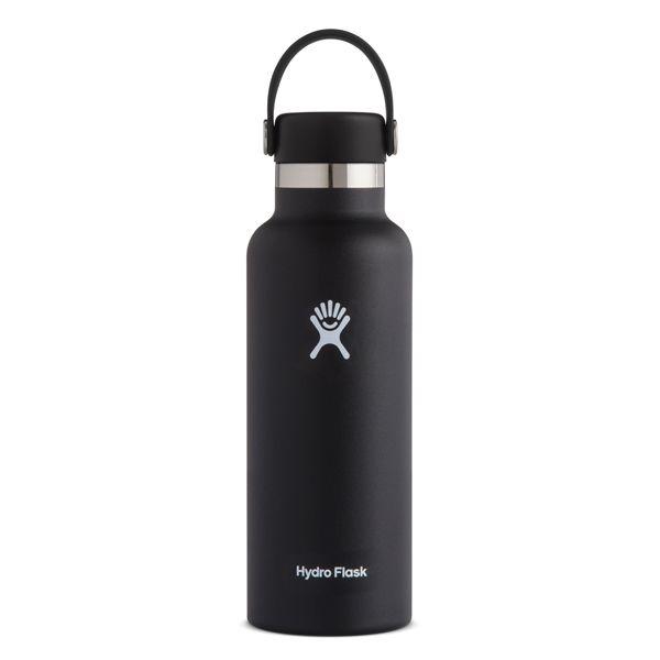 HydroFlask/ハイドロフラスク ステンレスボトル スタンダードマウス ブラック