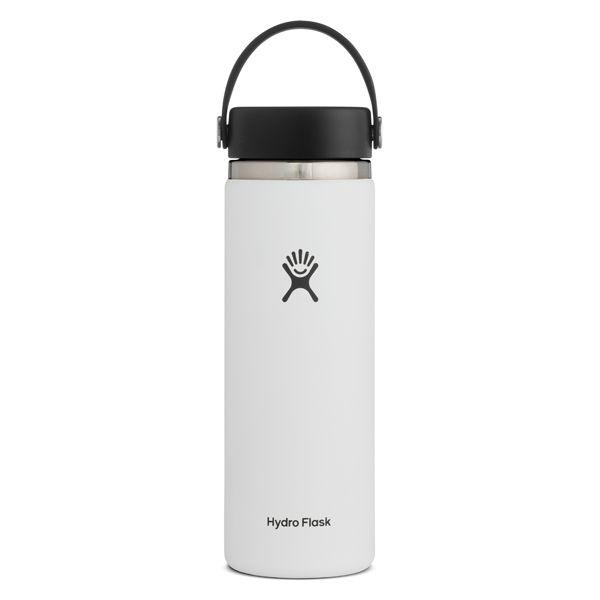 HydroFlask/ハイドロフラスク ワイドマウス 20oz ホワイト