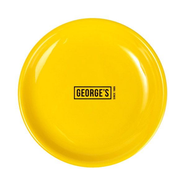 GEORGE'S プレート  S イエロー