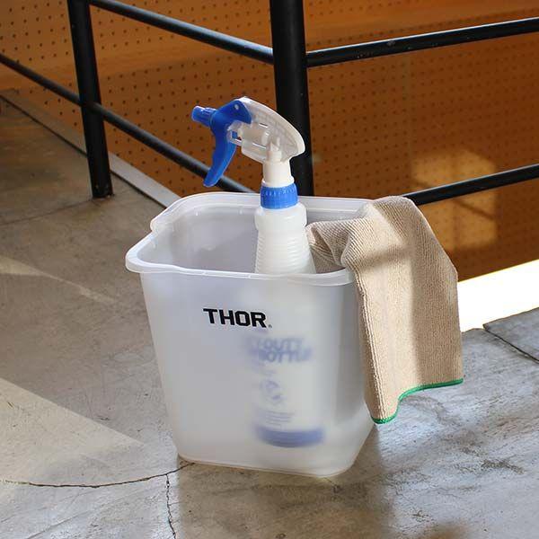 THOR/ソー クアッドレイト バケツ 4.7L グレー