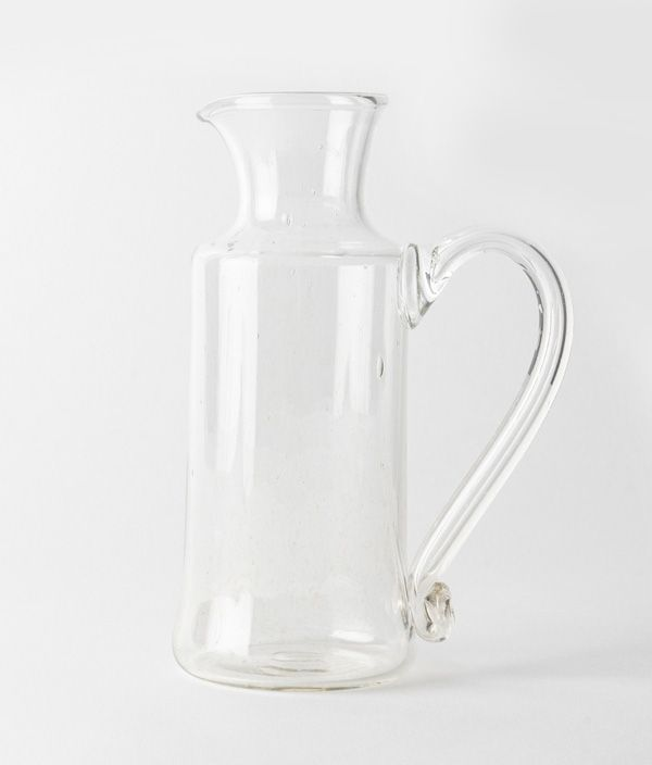 olive stained / pitcher / L