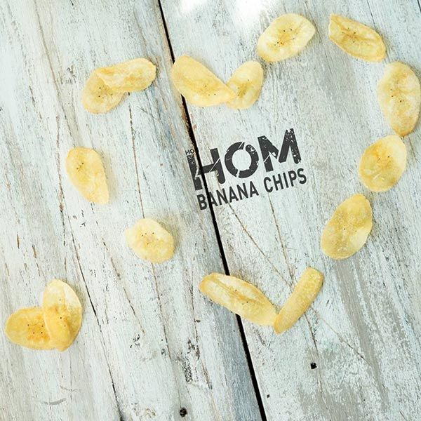 HOM バナナチップス コーンチーズ