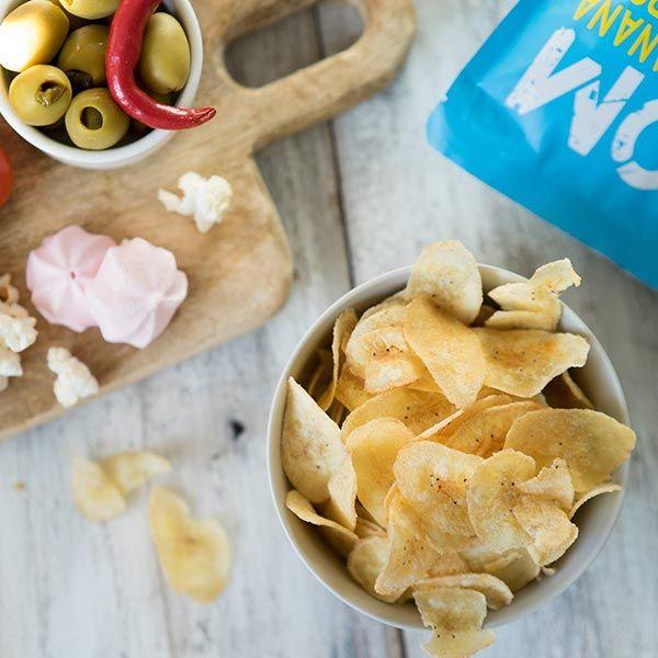 HOM バナナチップス サワークリーム&オニオン