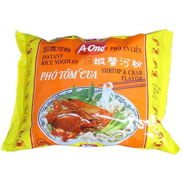 A-One インスタント米麺 ベトナムフォー エビ&カニ