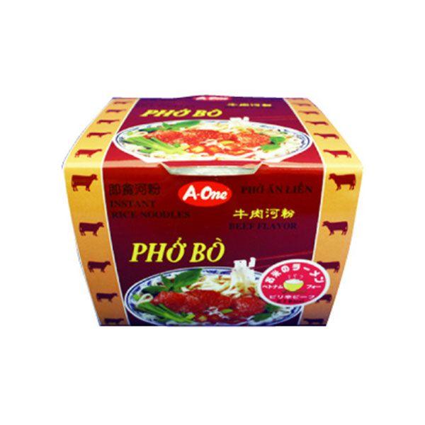 A-One インスタントカップ麺 ベトナムフォー ピリ辛ビーフ