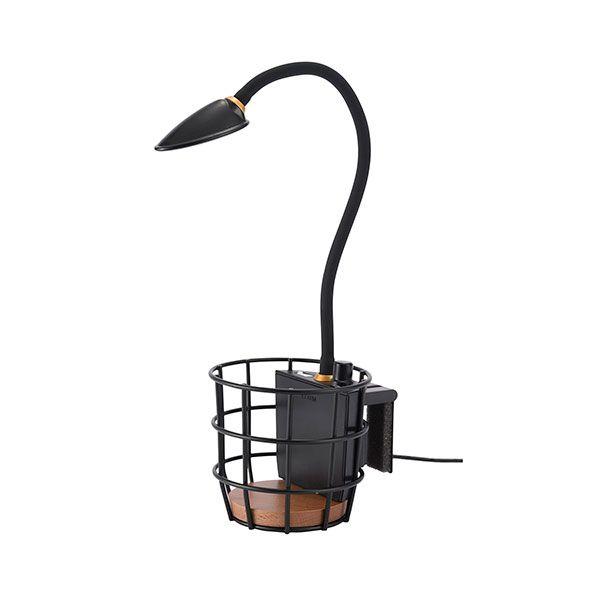USB ワイヤーバスケットライト ブラック
