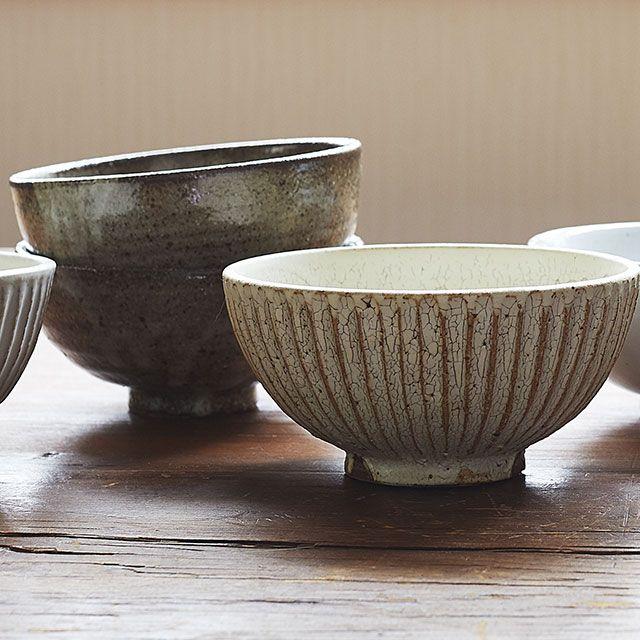 SHINOGI 飯碗 土灰釉 / 向山窯×TODAY'S SPECIAL