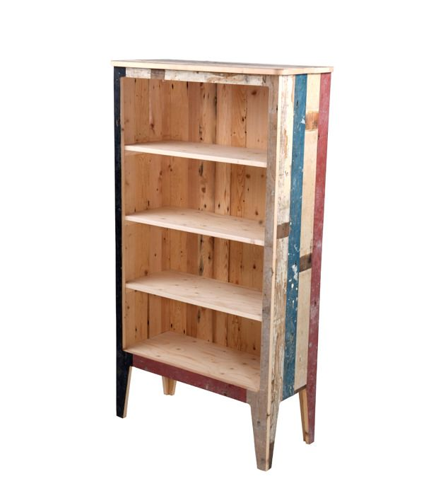 SCRAPWOOD BOOK SHELF