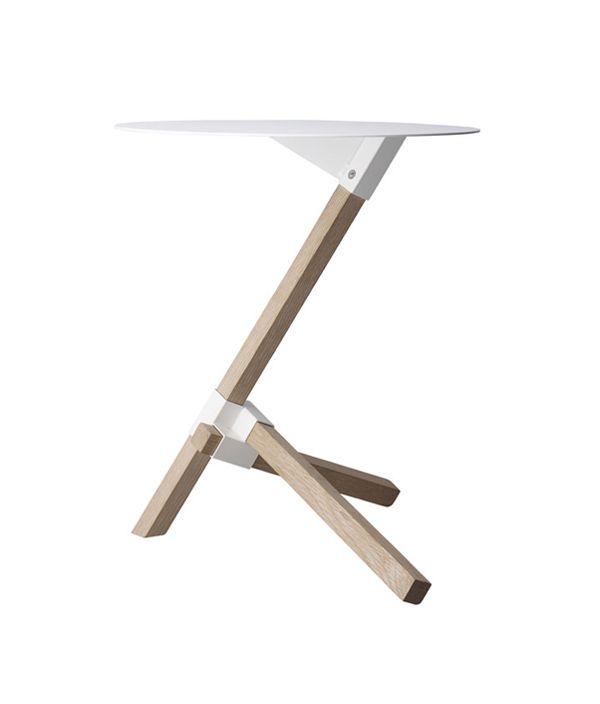 TRE table/ナチュラル/ホワイト