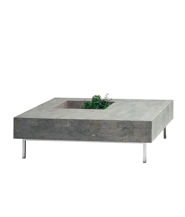 Void Square Table Stone