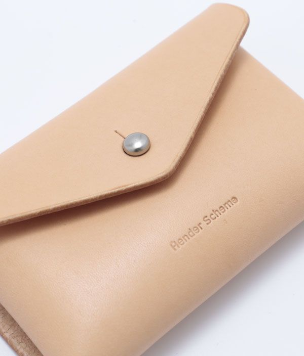 outlet store b06ea 3bcfc CIBONE|Hender Scheme one piece card case/RED