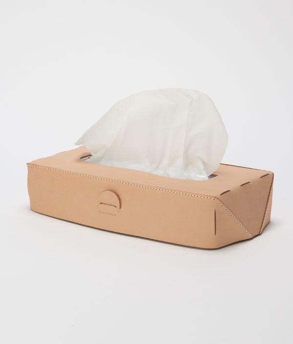 Hender Scheme tissue box case/NATURAL
