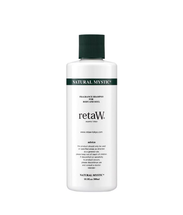 retaW BODY SHAMPOO NATURAL MYSTIC