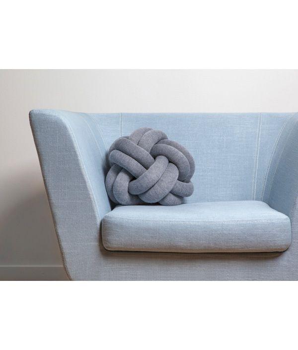 Knot cushion/ネイビー