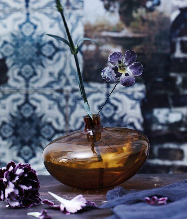 Swinging vases Blue