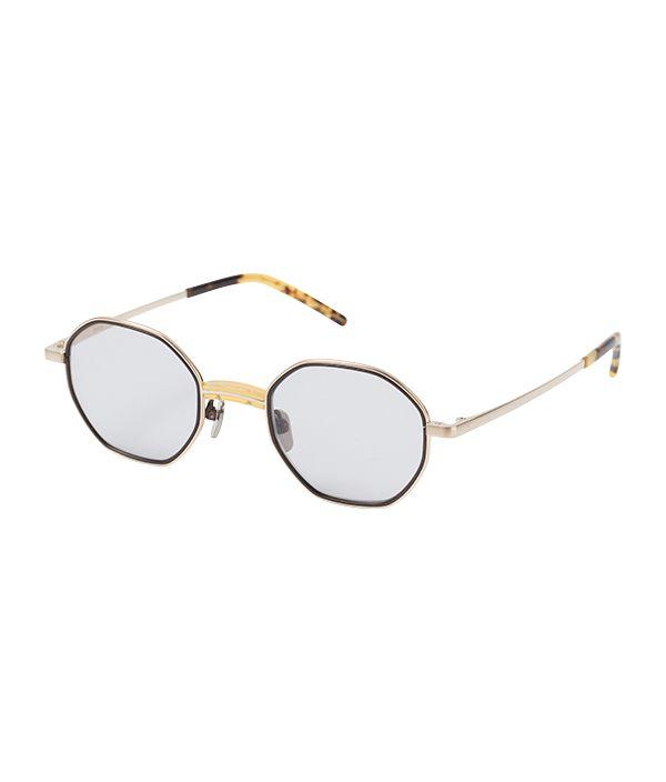 kearny / Charlie / Yellow×Gold(Sunglasses)