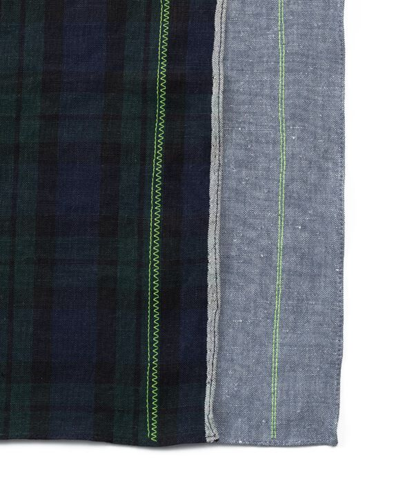 loomer × CIBONE Reproduct Handkerchief/1.CHECK(GR)