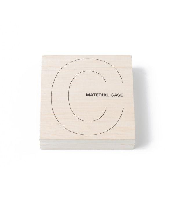 toumei × CIBONE MATERIAL CASE coaster